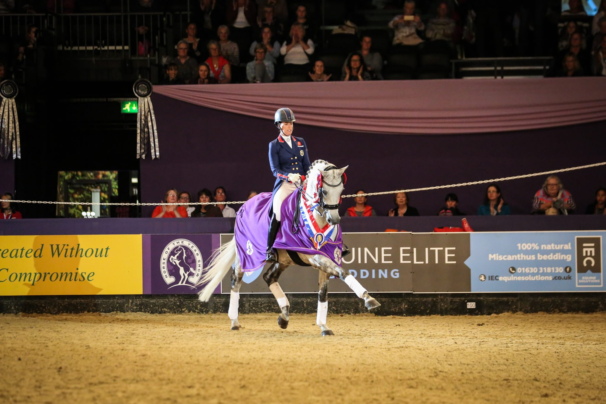 Behind the scenes at HOYS!